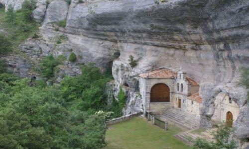 Zdjecie HISZPANIA / Castilla y Leon / San Bernabe / Cueva de san be