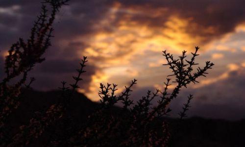 Zdjęcie HISZPANIA / Andaluzja / Almeria / przed burzą