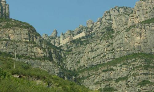 Zdjecie HISZPANIA / Katalonia / Montserrat / Klasztor w górach