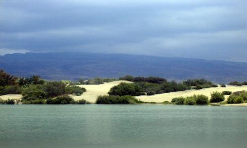 Zdjecie HISZPANIA / Maspalomas / Gran Canaria / Zacisze wydm...