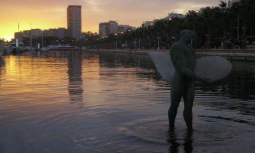 Zdjecie HISZPANIA / brak / Alicante / zachód w porcie