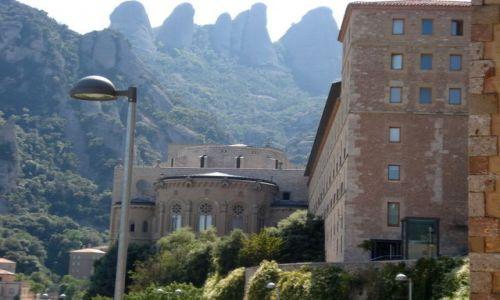 Zdjecie HISZPANIA / brak / Gory Montserrat / Klasztor Montserrat
