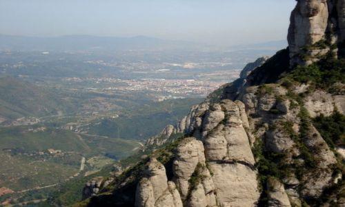 Zdjecie HISZPANIA / brak / Gory Montserrat / widok z klasztoru
