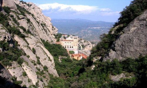 Zdjecie HISZPANIA / Katalonia / Montserrat / Klasztor Montserrat