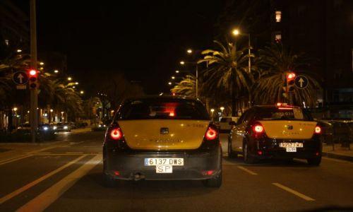 Zdjęcie HISZPANIA / Cataluna / Barcelona / Taxi