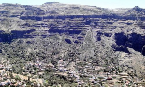Zdj�cie HISZPANIA / La Gomera / Hermigua / Barranco na La Gomera