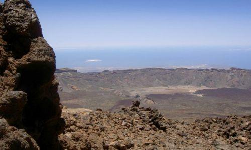 Zdjecie HISZPANIA / Teneryfa / Wulkanu Teide na Teneryfie  / Panorama z Wulk