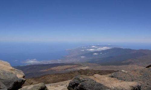 Zdjecie HISZPANIA / Wyspy Kanaryjskie / Teneryfa - Wulkan Teide / Panorama z wulk
