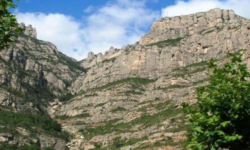 HISZPANIA / Katalonia / okolice Barcelony / Montserrat