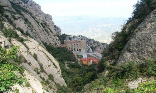 HISZPANIA / Katalonia / okolice Barcelony / klasztor na Montserrat