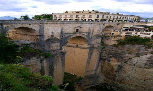 Zdjecie HISZPANIA / Andaluzja / Ronda - Puente Nuevo / Nowy Most - PUENTE NUEVO