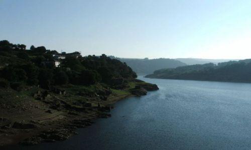 Zdjęcie HISZPANIA / Galicia / Portomarin / rzeka