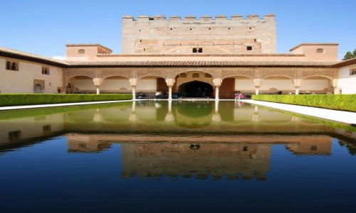Zdjęcie HISZPANIA / Andaluzja - Granada / Alhambra / Patio Arrayanes