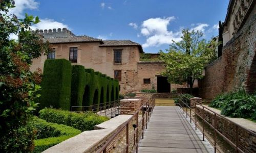 Zdjęcie HISZPANIA / Andaluzja - Granada / Alhambra / Ogrody Alhambry