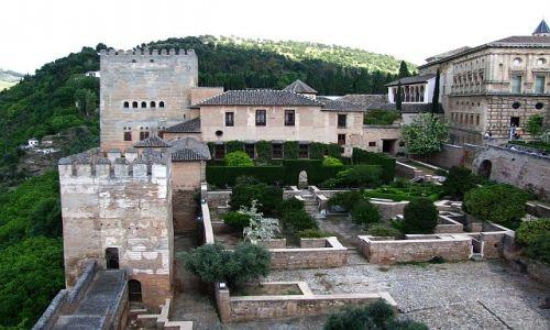 Zdjęcie HISZPANIA / Andaluzja / Grenada / Alhambra - Pałac Nasrydów