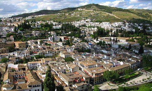 Zdjęcie HISZPANIA / Andaluzja / Grenada / wzgórze Sacromonte
