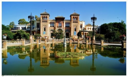 Zdjecie HISZPANIA / Andaluzja / Sevilla / Pawilon Mudejar