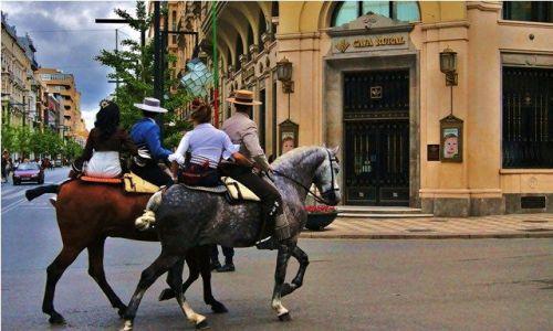 Zdjecie HISZPANIA / Andaluzja - Granada / Granada / Na ulicach Granady - 15 maja