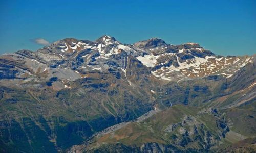 Zdjecie HISZPANIA / Pireneje / Valle de Pineta / Masyw Trzech Sióstr