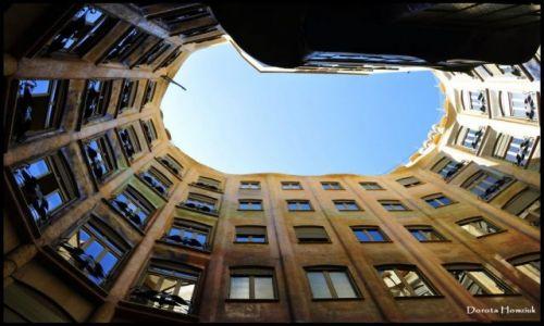 HISZPANIA / Katalonia / Barcelona / Casa Mila