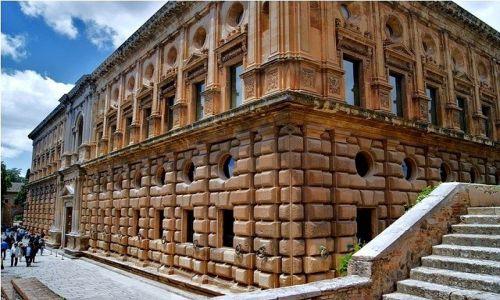 Zdjecie HISZPANIA / Andaluzja / Granada - Palacio de Carlos V / Pałac Karola V