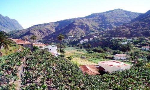 Zdjęcie HISZPANIA / La Gomera / Hermigua / Hermigua