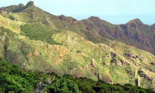 Zdjęcie HISZPANIA / La Gomera / La Gomera / La Gomera - strome zbocze