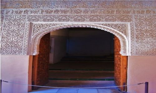 Zdjecie HISZPANIA / Andaluzja / Granada - Alhambra / Drzwi - Alhambr