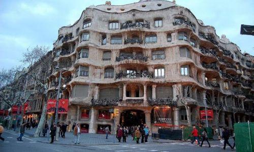 Zdjecie HISZPANIA / - / Barcelona / Wizje Gaudiego