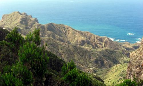 HISZPANIA / Teneryfa / Teneryfa / Widok na północne wybrzeże Teneryfy