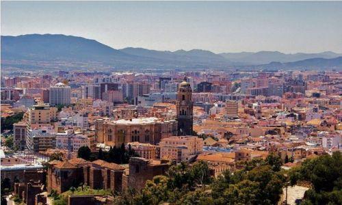 Zdjecie HISZPANIA / Andaluzja / Malaga / Malaga - panorama