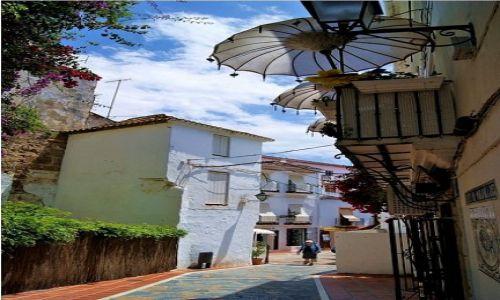 Zdjecie HISZPANIA / Andaluzja / Marbella / Parasolki Marbelli