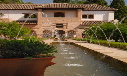 Zdjecie HISZPANIA / andaluzja / Granada / fontanna
