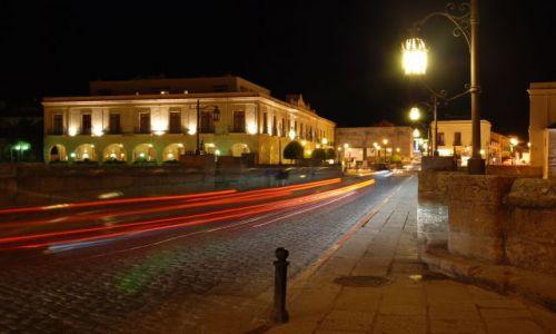 Zdjecie HISZPANIA / Andaluzja / Ronda / Most Puento Nuevo noca