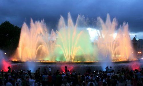HISZPANIA / Katalonia / Barcelona / Magiczna fontanna
