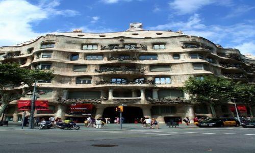 Zdjecie HISZPANIA / Katalonia / Barcelona / Casa Mila