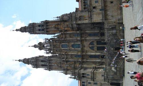 Zdjecie HISZPANIA / Galicja / Santiago de Compostela / katedra w Santi