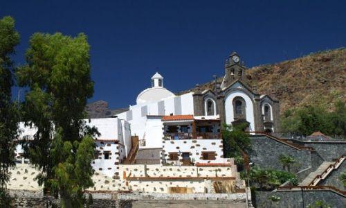 Zdjęcie HISZPANIA / Gran Canaria / Santa Lucia / kościół w Santa lucia