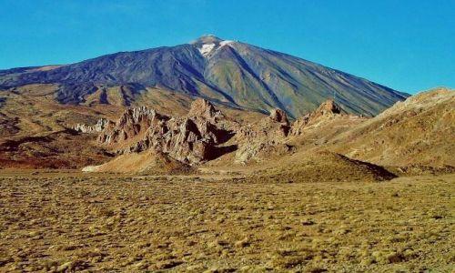 Zdjecie HISZPANIA / Teneryfa / Pico del Teide / Pico del Teide  - 3718 m.