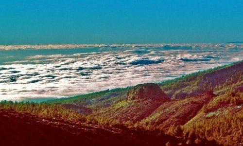 Zdjecie HISZPANIA / Teneryfa / w drodze na Teide / Mar de Nubes - Morze chmur