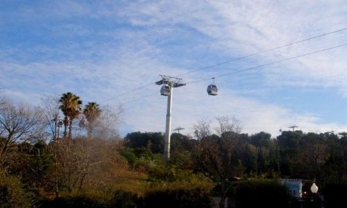 Zdjecie HISZPANIA / Catalunya / Barcelona / kolejka linowa Mountain Montjuic