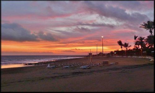 Zdjecie HISZPANIA / Wyspy Kanaryjskie / Gran Canaria / Wieczorem w San Augustin