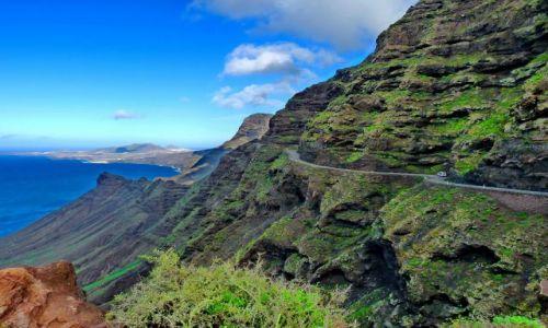 Zdjęcie HISZPANIA / Gran Canaria / Zachodnie klify / Ryzykowna droga