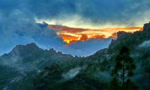 Zdjecie HISZPANIA / Gran Canaria / Gran Canaria / Zachód na Roque Nublo