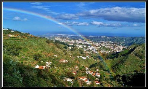 Zdjecie HISZPANIA / Wyspy Kanaryjskie / Gran Canaria / Tęczowy krajobraz