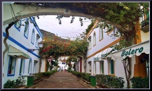 Zdjecie HISZPANIA / Gran Canaria / Puerto de Mogan / Pięknie w Puerto de Mogan