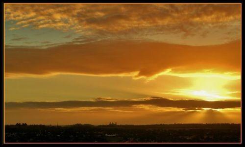 HISZPANIA / Gran Canaria / Maspalomas / Słońce zachodzi w Maspalomas