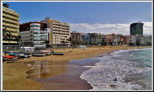 HISZPANIA / Gran Canaria / Las Palmas / Las Canteras