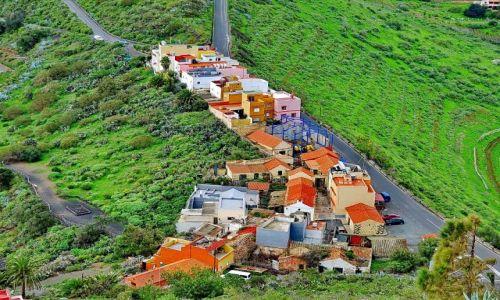 Zdjecie HISZPANIA / Gran Canaria / pico de Bandama / Wioska u podnóża pico de Bandama