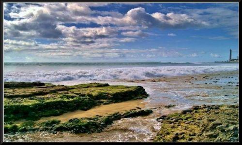 HISZPANIA / Gran Canaria / Maspalomas / Chmury...